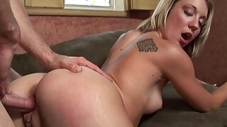 Amy Brooke Gets Mouth up With Cum