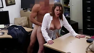 Reality cash fuck session with a busty desperate babe