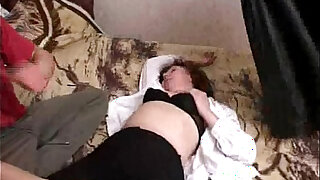 Mila mature woman gets throat fucked