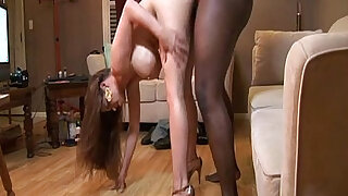 Super hung stud tries porn for the first time