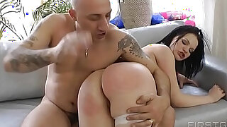 Incredible deepthroat fuck plus rita takes missile sized dildo in her ass