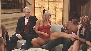 Blonde hottie Kimberly turns slutty in swinger partyichael and Kimberly