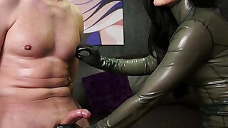 femdom mistress foot worship and nipple