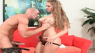 Soccer milf Abby Rode gets picked up from the parking lot and fucked