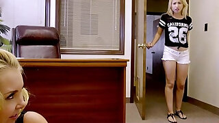 Teacher caught and has first action with teens