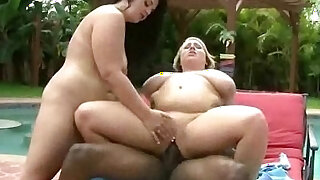 BBW Teens Share one Cock