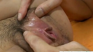Skinny and dirty Asian woman making out and hard deep anal fucked