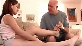 Girl with daddy issues and sexy feet