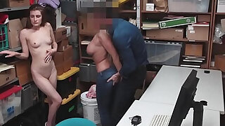 Shoplifting Suspect And Mother Were Caught