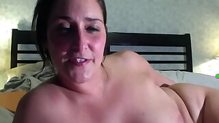 She enjoys a big, black, ribbed vibrator up her dripping ass