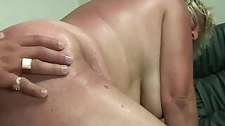 Old granny gets her hairy wet pussy fucked by perverted dude