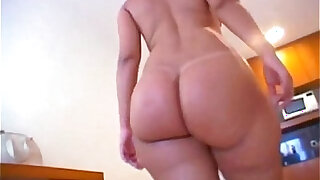 Delanie has got some serious booty and we made sur