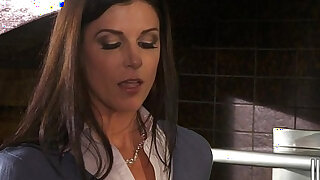 HOT soccer mom India Summer fucks her sons friends in threesome